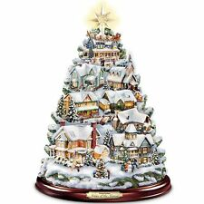 THOMAS KINKADE MUSICAL & LIGHTED SEASON OF SONG CHRISTMAS TREE HOLIDAY DECOR NEW