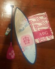 American Girl Doll - Kanani's Retired Paddleboard Set missing booklet and vest