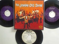 LOT OF 4 ' THE JOHNNY OTIS SHOW ' HIT 45's+1P(Copy)[Casting My Spell]  THE 50's!