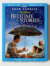 Disney Adam Sandler Family Comedy Bedtime Stories on Blu-ray DVD & Digital Copy