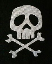 Captain Harlock PATCH canvas HORROR punk rock - Misfits, Samhain, Glenn Danzig