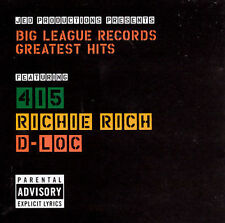 V/A - Big League Records Greatest Hits CD SEALED NEW Richie Rich, 415, D-Loc
