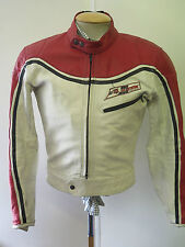 "VINTAGE DAINESE Cafe Racer Moto Giacca Biker in Pelle M 40"" EURO 50"