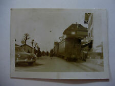 Suis370 - c1940s NYON St CERGUE & MOREZ Light Railway TRAIN Photo Switzerland