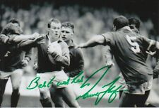 WALES HAND SIGNED PAUL THORBURN 6X4 PHOTO RUGBY UNION 7.