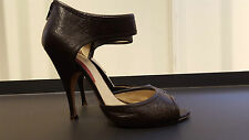 BRIONI sandal WOMAN SHOES in dark brown calf leather Size 39