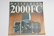 Hasselblad 2000FC Camera System Sales Guide Pamphlet Book - English - USED B97