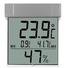 Vision digitales Fensterthermometer mit Hygrometer Display Außen  TFA 30.5020