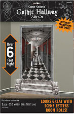 Halloween Gothic Haunted Hallways Large Wall Decoration Scene Setters