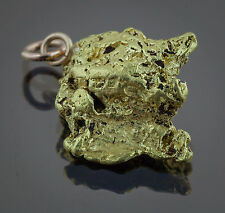 Californian Natural Gold Nugget Pendant, 6.06 Grams, Tested over 22K