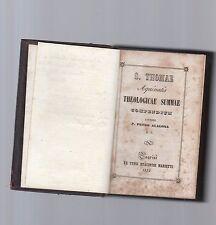 s.thomae aquinatis theologiae summa compendium auctore p.pietro alagona s.i.