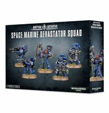 (NEW) SPACE MARINE DEVASTATOR SQUAD - WARHAMMER 40,000 - 40K - GAMES WORKSHOP