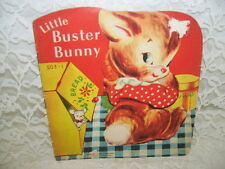 LITTLE BUSTER BUNNY 1949 SAMUEL LOWE CO CHILDREN'S BOOK