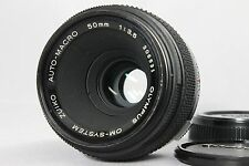 OLYMPUS OM-SYSTEM ZUIKO AUTO-MACRO 50mm F3.5 MF Lens Excellent from Japan