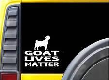 Goat Lives Matter Sticker k184 6 inch boer decal