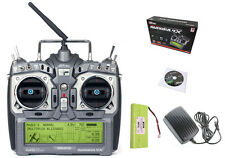 Hitec Aurora 9X 9Ch SLT 2.4GHz Transmitter w/ NiMH Battery & Charger 192258