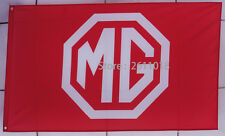 car racing flag banner flags red 3x5FT free shipping for MG AUTOMOTIVE FLAG z4