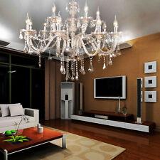 15 Arms lampadario cristallo luce soffitto Lampada a sospensione Apparecchi