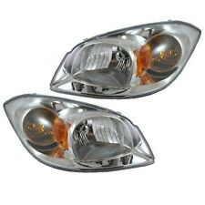 2005 - 2010 CHEVROLET COBALT HEAD LIGHT LAMP PAIR LEFT AND RIGHT
