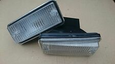 Fiat 126 Pair of Front Clear Indicator Indicators Lamp