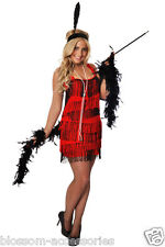 G59 1920s Charleston Flapper 20s Chicago Gangster Fancy Dress Up Gatsby Costume