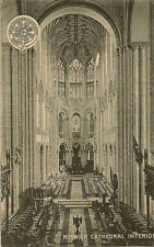 NORWICH(Norfolk) : GER OFFICIAL-Norwich Cathedral Interior
