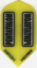 Yellow PENTATHLON HD150 Slim Dart Flights: 3 per set