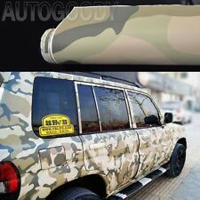 "12"" x 60"" Army Camo Camouflage Desert Vinyl Film Wrap Sticker Air Bubble Free"