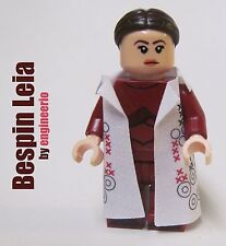 LEGO STAR WARS Custom -- Bespin Leia -- cloud city luke lando han mini figure