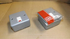 MK.20 amp DP switch.Metal enclosure. New in bag.x2.
