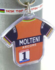 Eddy Merckx Molteni Arcore Tour De France Cotton Cycling Jersey Keyring Rapha