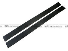 Carbon Fiber Side Skirt Under Board Extensions Add On 1900mm 100mm Universal