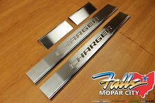 2011-2017 Dodge Charger Stainless Steel Door Sill Guards Set of 4 Mopar OEM