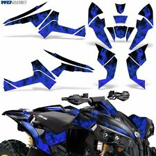 Graphic Kit CanAm Renegade X/R ATV Quad Decals Wrap Can Am 500/800/1000 ICE BLUE