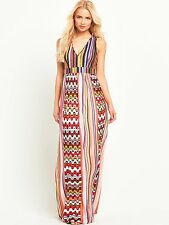 Pinko Flavio Women's XL Multi Coloured Printed Maxi Dress Usually £250.00