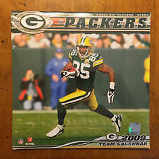 NFL Green Bay Packers Team Calendar 2009 SEALED