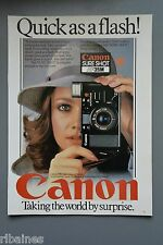 R&L Ex-Mag Advert: Canon Sure Shot AF35M Camera / Van Cleef & Arpels Watches