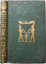 RARE 1838 1stED ILLUSTRATIONS OF THE BIBLE FROM THE MONUMENTS OF EGYPT PYRAMIDS