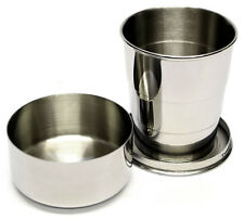 5oz Telescopic Steel Cup (tc02) with Free Engraving