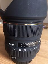 Sigma EX DG HSM 17-35mm f/2.8-4.0 asherical Lente-Canon