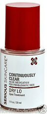 New Exp: 5/18 Serious Skin Care Continuously Clear Dry Lo Acne Spot Treatment