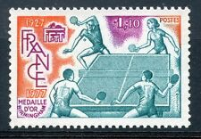 stamp / TIMBRE FRANCE NEUF LUXE N 1961 ** SPORT TENNIS DE TABLE