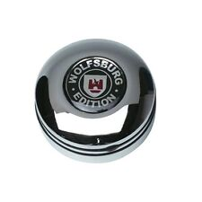 Wolfsburg Edition 2 Piece Chrome Silver Mirror Adjustment Car Button VW Golf 3