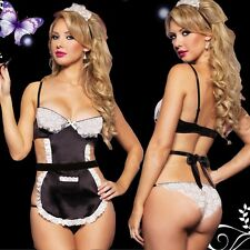 sexy lingerie cute sexy Costume Cosplay French Maid Lingerie Outfit Fancy Dress