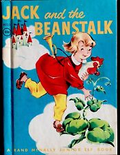JACK AND THE BEANSTALK ~ Vintage Children's Rand McNally Junior Elf Book