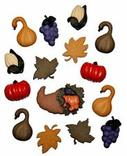 Dress It Up Buttons Jesse James Thanksgiving #3128 Flat Rate Shipping