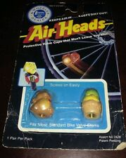 New~Vintage 1988 The Wheeler Dealer- Air Heads Bicycle Valve Stem Cover Freeship