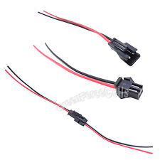 10 Pairs JST SM 2-Pins 2P Female & Male Plug Connector Wire Cables For LED Strip