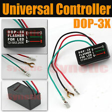 Universal LED Flasher Blinker Relay 3 Pin 12V Car Motorcycle Signal Controller