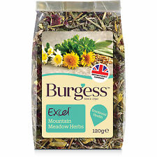Burgess Excel Snacks Mountain Meadow Herbs Small Animal Treats 120g